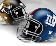 Jacksonville Jaguars vs New York Giants
