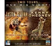 Kenny Chesney and Jason Aldean - TWO Tours, ONE night