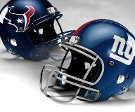 Houston Texans vs New York Giants