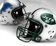 Detroit Lions vs New York Jets