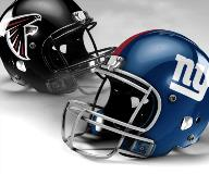 Atlanta Falcons vs New York Giants