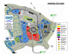New York Giants Parking Map