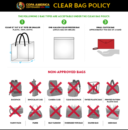 COPA Policy Clear Bag 2