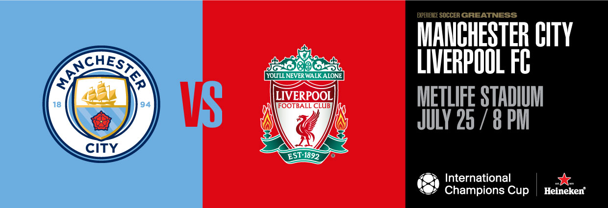 Image result for Manchester City vs Liverpool International Champions Cup