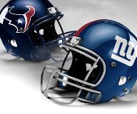 Houston Texans vs New York Giants