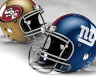 San Francisco 49ers vs New York Giants