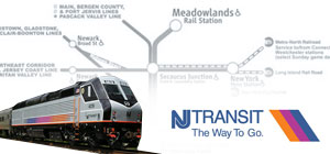 New Jersey Transit Meadowlands Rail Service