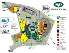 2019 Jets Parking Site Map
