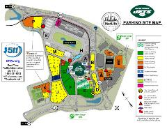 Jets New Logo Parking Lot Map 2019