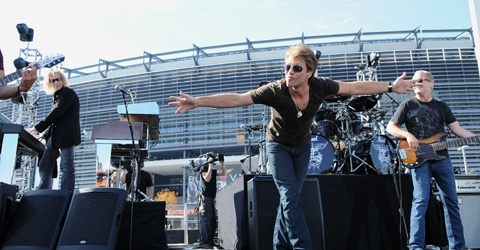 Bon Jovi to Perform Opening Concert of New Meadowlands Stadium